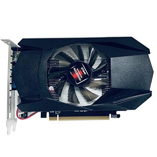 Scheda grafica scheda video, scheda grafica 128Bit PCI-E VGA 4G GDDR5 Fan di raffreddamento del gioco HD7670 scheda video