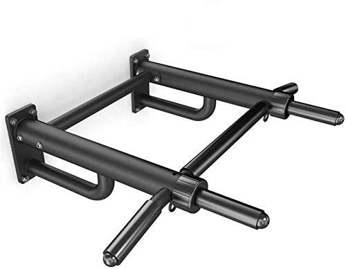 HMBB Pull-up barras de pared superior Barra horizontal de interior casero individual Chin cubierta Bar multifunción muscular Barra horizontal Sandbag Shelf la aptitud del ejercicio Boom Plataforma Eje