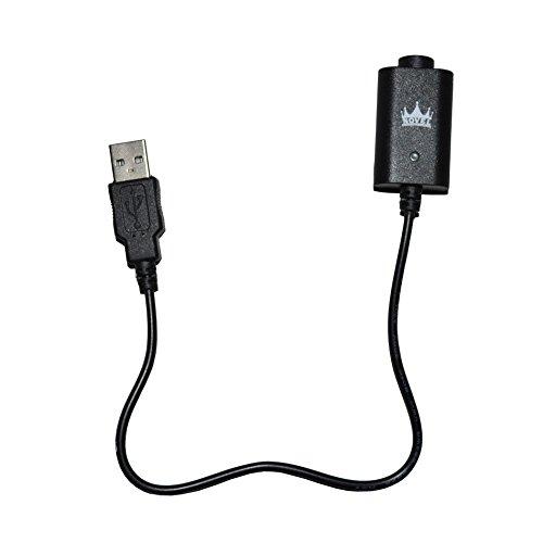 USB Schnellladegerät für eGo Akkus NOVEL™ Elektronische Zigarette (Ohne Nikotin und Tabak frei)