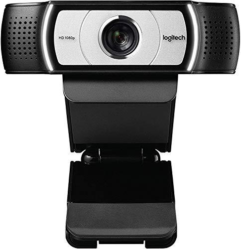 Logi C930c 1080P HD Video Webcam mit Sichtschutz-Auslöser, 90 Grad erweiterte Sicht, Microsoft Lync 2013 und Skype zertifiziert, asiatische Version