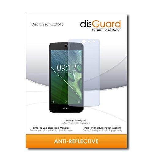disGuard Displayschutzfolie für Acer Liquid Zest 4G [2 Stück] Anti-Reflex, MATT, Entspiegelnd, Extrem Kratzfest, Anti-Fingerabdruck - Displayschutz, Schutzfolie, Panzerfolie