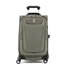 A half pound lighter than maxlite 4, this ultra lightweight  21 inch spinner meets carry on size restrictions for most domestic airlines 4 wheel spinners rotate 360 degree for a smooth roll. Lightweight, sturdy PowerScope handle stops at 38 inch and ...