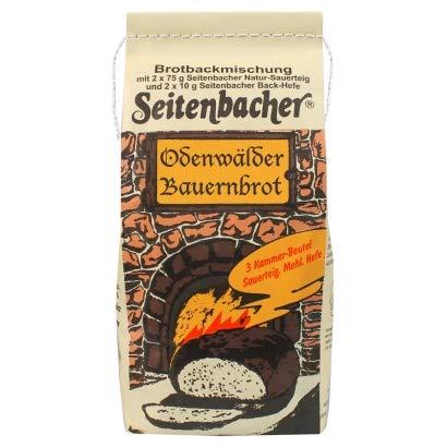 Backmischung Seitenbacher Odenwalder Bauernbrot für Brotbackautomaten mit Weizen