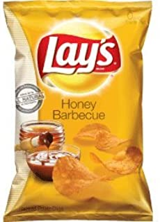 Lay's Honey BBQ Flavored Potato Chips, 10oz Bags (Pack of 10)