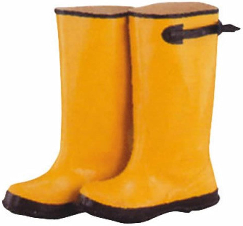 Mintcraft RB001-9-C Yellow Overshoe Boot Size 9