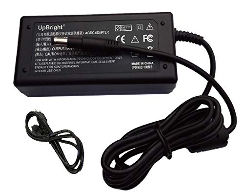 UpBright New Global AC/DC Adapter Compatible with HP NSW 24187 18.5 Volt 3.5 Amp 18.5V - 19.5V 3.33A - 3.5A 65W Power Supply Cord Cable Battery Charger Mains PSU (w/OD: 4.8mm Black Long Plug Tip.)