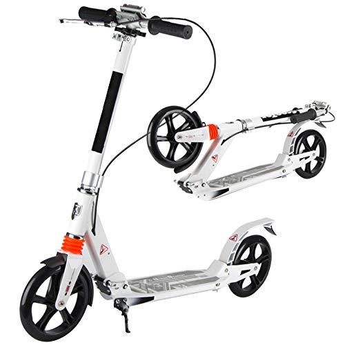 WYJJ Kick Scooter Plegable de 2 Ruedas para niños Adultos, Transporte Urbano Ligero