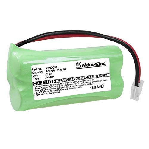 Akku kompatibel mit Audioline CDL970, CDL971, Alcatel Versatis 50, 350, Binatone Big Button Combo, DP380F - ersetzt 921693-BP, H-AAA500BX2-CT- NI-MH 650mAh