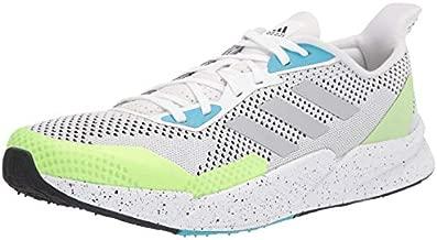 adidas Men's X9000L2 Running Shoe, White/Matte Silver/Black, 10