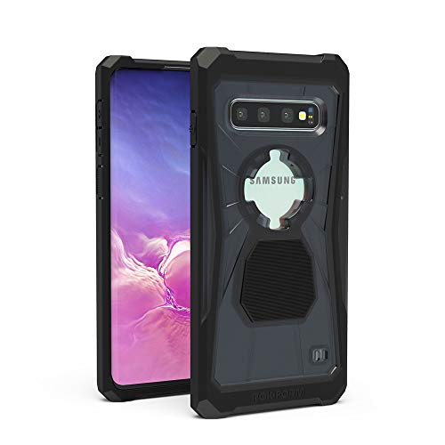 Rokform - Galaxy S10 Magnetic Case with Twist Lock, Military Grade S10 Case Rugged S Case Series (Black)