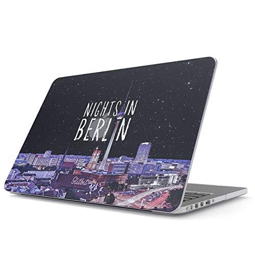 Glitbit Hülle Kompatibel für MacBook Pro 16 Inch Case, Model: A2141 with Touch Bar & Touch ID Nights In Berlin Germany Deutschland Plastik Case