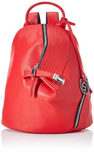 Remonte Damen Rucksackhandtasche Q0511, Rot (Rosso), 16x28x22 cm