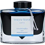 Namiki Iroshizuku pluma estilográfica Tintas en botellas (Tsuyukusa azul profundo)