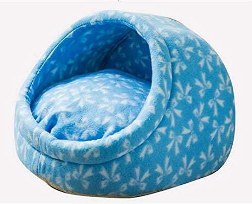 ZXL Warm hondenbed voor de winter, voor honden en huisdieren, zacht hondenkussen voor honden, mand voor warme kussens, modieuze dierenvorm