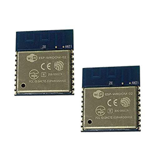 TOOGOO Module sans Fil WiFi du Port SéRie Distant Esp-Wroom-02 Esp8266 éMetteur-RéCepteur 32Mbit