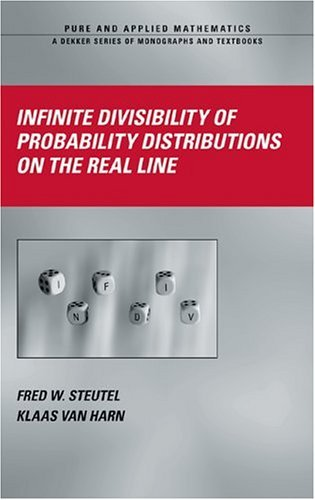 Infinite Divisibility of Probability Distributions on the Real Line (Chapman & Hall/CRC Pure and Applied Mathematics Book 259)