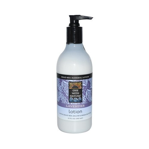 One With Nature Lavender Dead Sea Hand & Body Lotion 360 ml by One with Nature Soaps