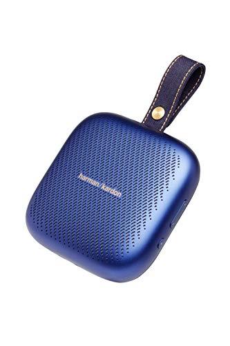 Harman Kardon NEO ワイヤレスポータブルスピーカー Bluetooth/防水IPX7対応/最大10時間再生/ノイズキャンセリングスピーカーホン機能搭載 ブルー HKNEOBLUBSG【日本正規代理店品】