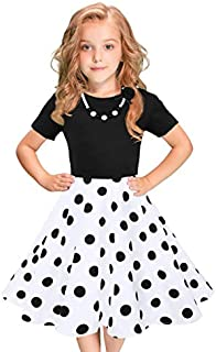 1-8 Years Old Girls,Yamally_9R Fashion Baby Girls Long Sleeve Denim Dress Princess Tutu Dress Cowboy Clothes