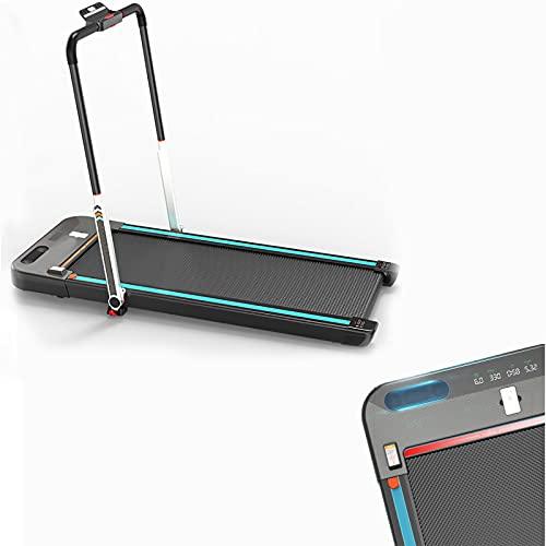 Klappbares Tragbares Laufband Kompaktes Laufband Für Übungen Elektrisches Desktop-Laufband Home-Office-Fitnessstudio-Laufband Mit LED-Anzeige