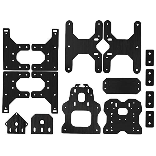 without 1set 3D Printer Accessories For Ooznest Ox Cnc Plates Engraving Machine Construction Board (Color : Black)