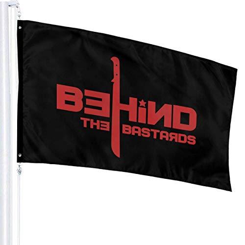 Lsjuee Machete - Red 3' X 5' Ft Outdoor/Indoor Flags Garden Flag Home Flag Single Layer Translucent