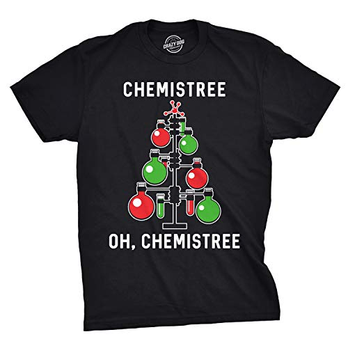 Geeky Chemistry Science Christmas T-Shirt