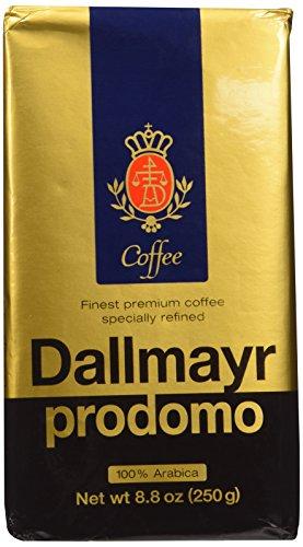 Dallmayr Coffee Grnd Prodomo,gold,8.8 Ounces