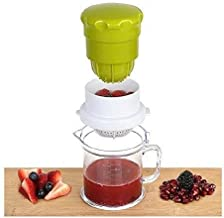 Kriya 2 Way 2 in one Multipurpose Juicer for Orange, Pomegranate, Lime Fresh, Water Melon Healthy Juice Anytime Pack of 1