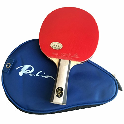 Palio Expert 2.0 Table Tennis Bat & Case - ITTF Approved - Flared - Beginner Ping Pong, Racket, Paddle