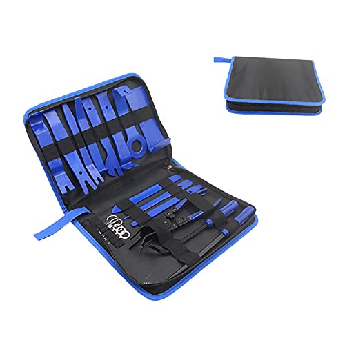 Cozy69 19 piezas herramienta de eliminación de moldes, kit de palanca de palanca para panel de coche, kit de herramientas de extracción de estéreo,