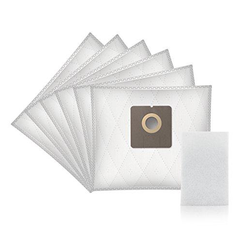 Wessper® Staubsaugerbeutel für Bomann BS 9011 CB (6 Stück, Synthetische)