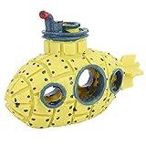 Qinlorgon 【Venta del día de la Madre】 Burbujeador de Aire para Acuario Submarino, Adorno de Resina para pecera, decoración de Acuario para pecera