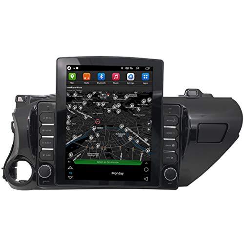 9.7 Pulgadas Navegadores GPS para Coche,actualizaciones Via Wi-Fi,Pantalla Táctil De Guía De Voz Y Mapa De Navegador,Aplicar para Toyota Hilux (2015 To Present)