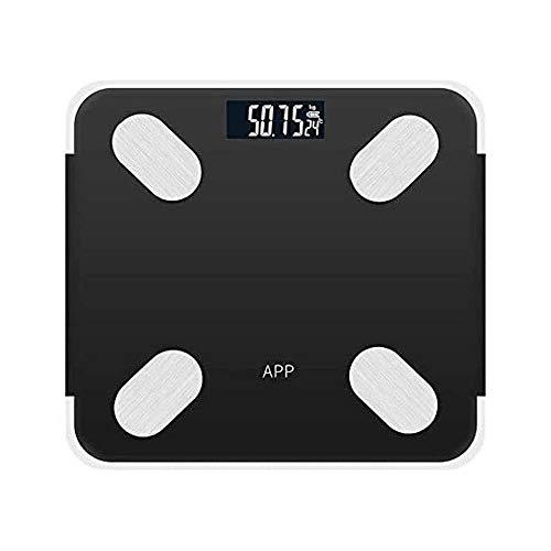 YIBOKANG Escala de baño de Peso Corporal Digital con tecnología de pisada, 400 LB