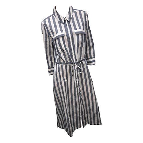 Opus Damen Weife ST Kleid, just Blue, 44