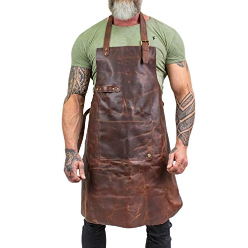 Legend Forge Leather Work Apron (Brown)