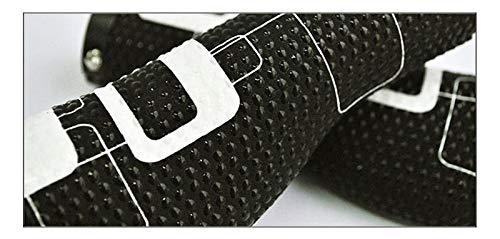 Accesorios de Manillar de Bicicleta, diseño ergonómico, Silicona a Prueba de Golpes, para diámetro Interno estándar 22 mm (Color : 2)