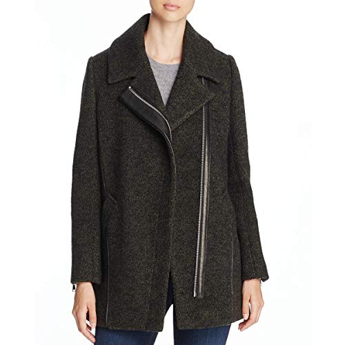 Andrew Marc mujeres Zoe invierno virgen lana abrigo