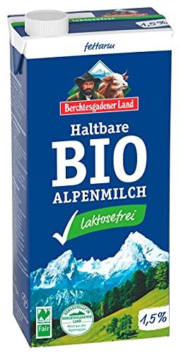 Berchtesgadener Land Latte Parzialmente Scremato Uht Delattosato 1.5% Di Grassi - 1 L