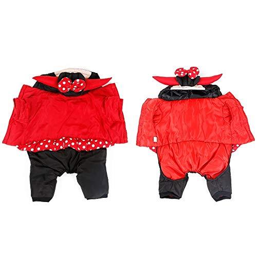 GX Traje De Perro Halloween Grueso Otoño E Invierno Disfraces Navideños De Halloween Adecuados para Mascotas Grandes,A,M