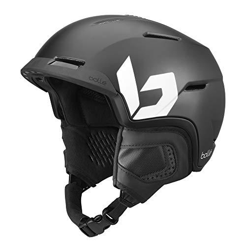 Bollé Unisex– Erwachsene Motive Skihelme Black 59-62 cm