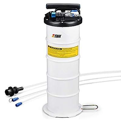 EWK Pneumatic/Manual 6.5 Liter Oil Changer Vacuum Fluid Extractor Pump Tank Remover