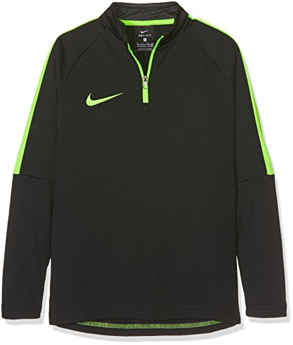Nike Jungen Unisex Dry Academy Langarmshirt, Black/Electric Green/Electric Green, XS