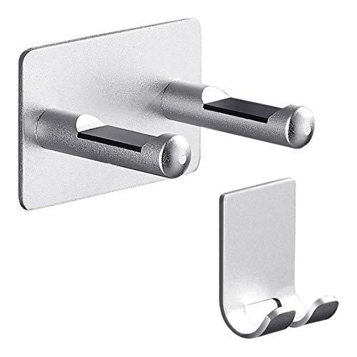 NZHK Secador de Pelo Soporte Cuarto de baño Dormitorio GRATUIO PUNZA DE Almacenamiento DE Montaje DE Montaje DE Pared Aluminio (Color : Silver)