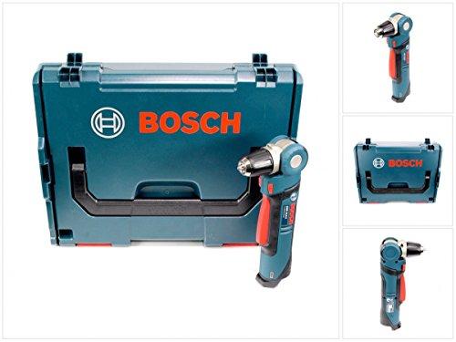 Bosch GWB 10,8 V-LI Akku Winkelbohrmaschine 11Nm Solo (0601390909) + L-Boxx