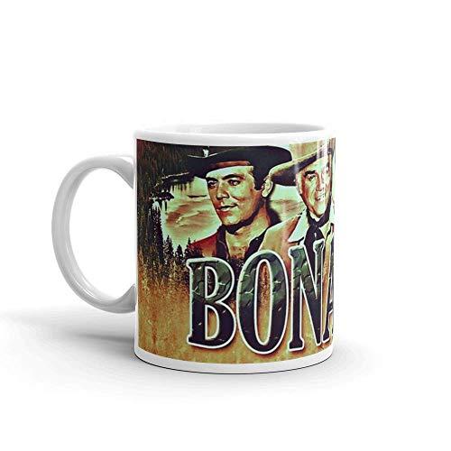 N\A Die Cartwrights von Bonanza. 11 Unzen Keramik glänzend Geschenk für Kaffeeliebhaber Zitat Becher Geschenke für Männer & Frauen. 11 Unzen Keramik glänzende Tassen Geschenk für Kaffeeliebhaber