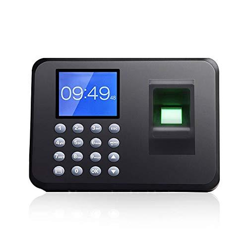 Närvaromaskin 2,4 tum LCD-skärm enhet fingeravtryck närvaro maskin kinesiskt och engelskt kort maskin anställd kontrollera fingeravtryck läsare anställd inloggning inspelare fingeravtryck lösenord