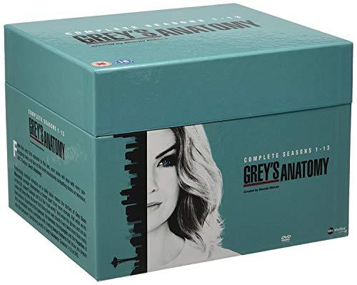 Greys Anatomy Season 1-13 Box Set (76 Dvd) [Edizione: Regno Unito]