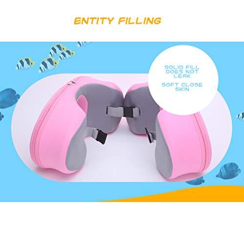 Schwimmring, Auftriebsring für Kinder, Schulterring 2-9 Jahre alter Babyschaum-Armring Achselhöhle Kinder-Schwimmausrüstung Grün L (6-9 Jahre alt)